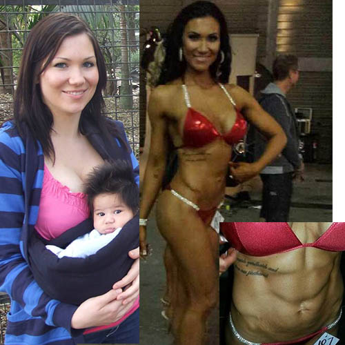 stephanie fitness mum before and after